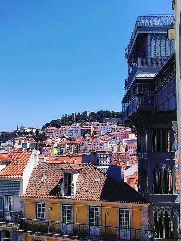 Lisboa e Elevador de Santa Justa